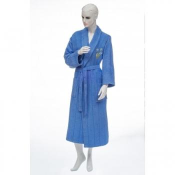 Bukle Miray Bayan Bornoz-Mavi