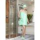 Bayan Sauna Set-Yeşil